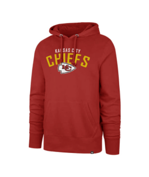 Pro Image Sports at the Mall of America Kansas City Chiefs Outrush Headline Hoodie - Red