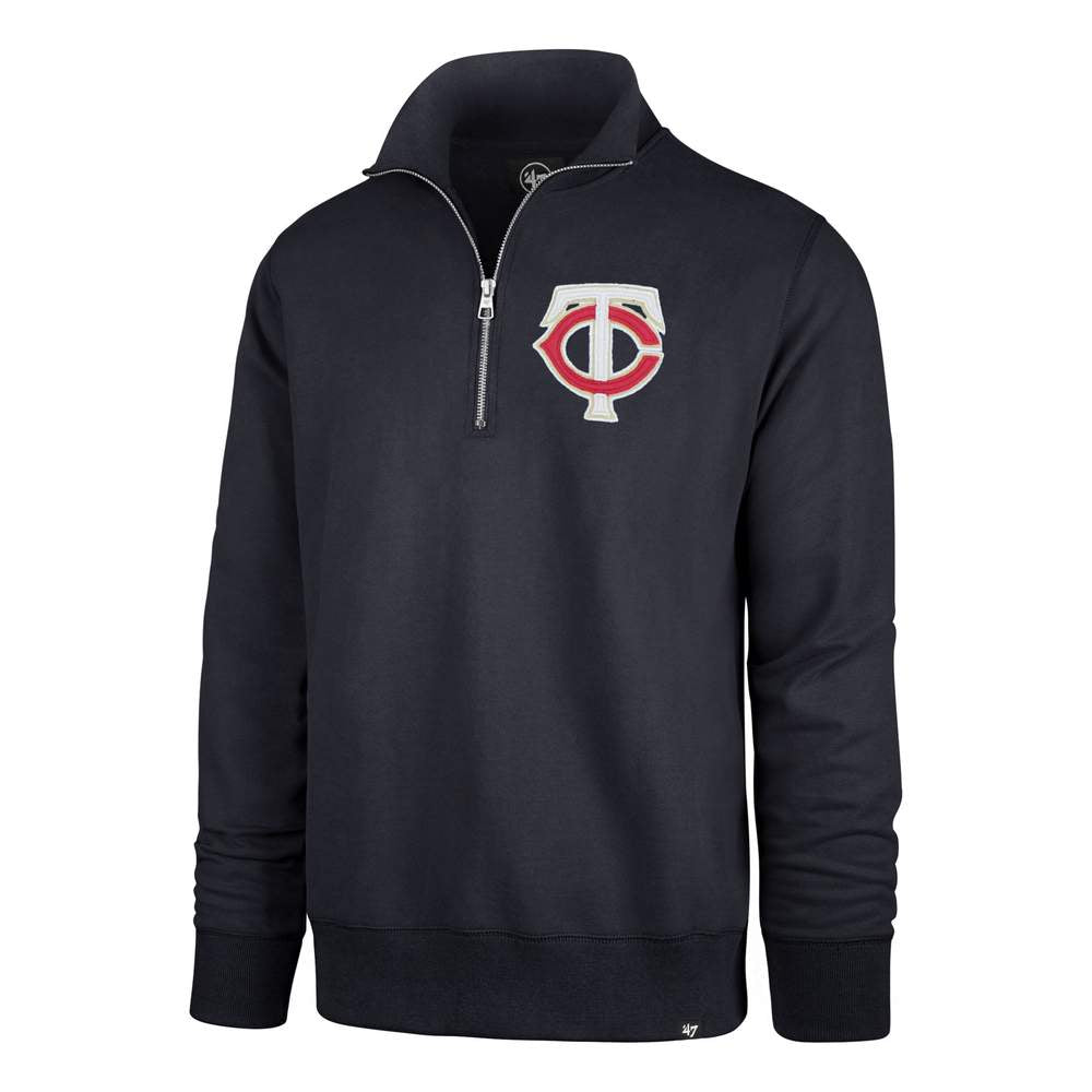 Pro Image Sports at the Mall of America MINNESOTA TWINS STATESIDE '47 STRIKER 1/4 ZIP MENS