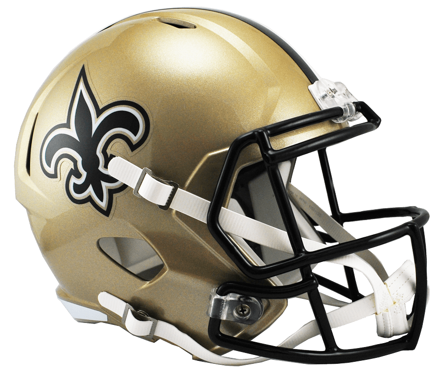 Riddell Helmet New Orleans Saints Speed Replica Helmet