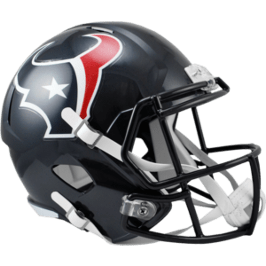 Riddell Helmet One Size Houston Texans Speed Replica Helmet