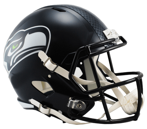 Riddell Helmet One Size Seattle Seahawks Speed Replica Helmet