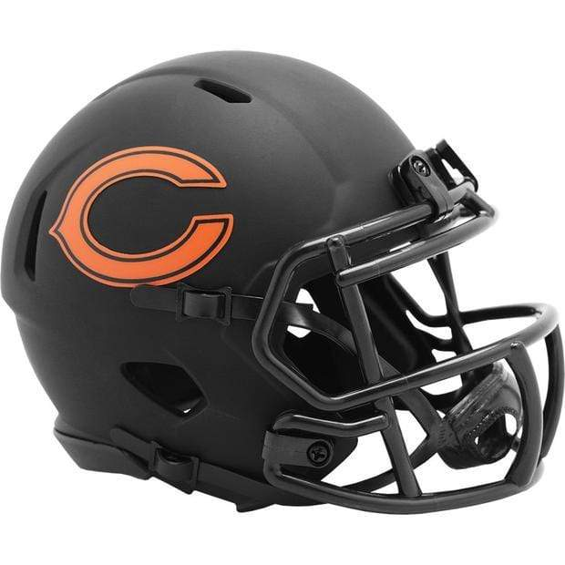 Riddell Mini Helmet One Size / Black Chicago Bears Riddell Eclipse Speed Mini Helmet