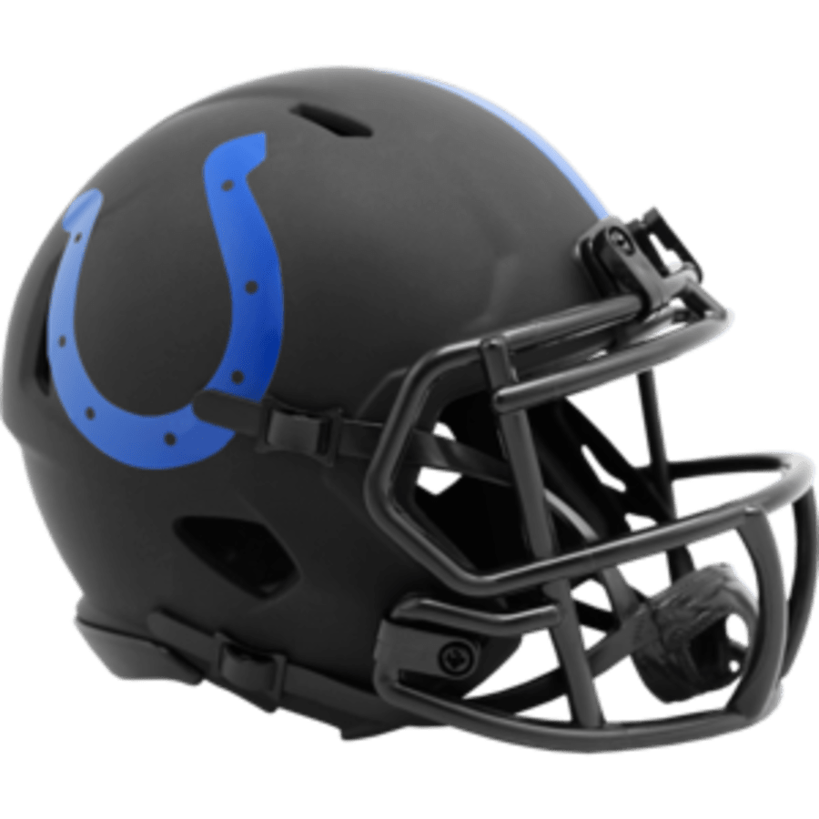 Riddell Mini Helmet One Size / Black Indianapolis Colts Riddell Eclipse Speed Mini Helmet