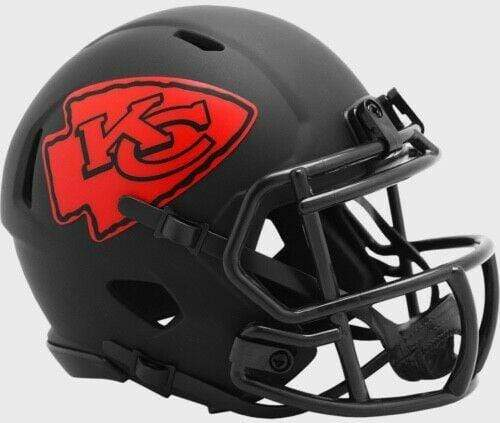 Riddell Mini Helmet One Size / Black Kansas City Chiefs Riddell Eclipse Speed Mini Helmet