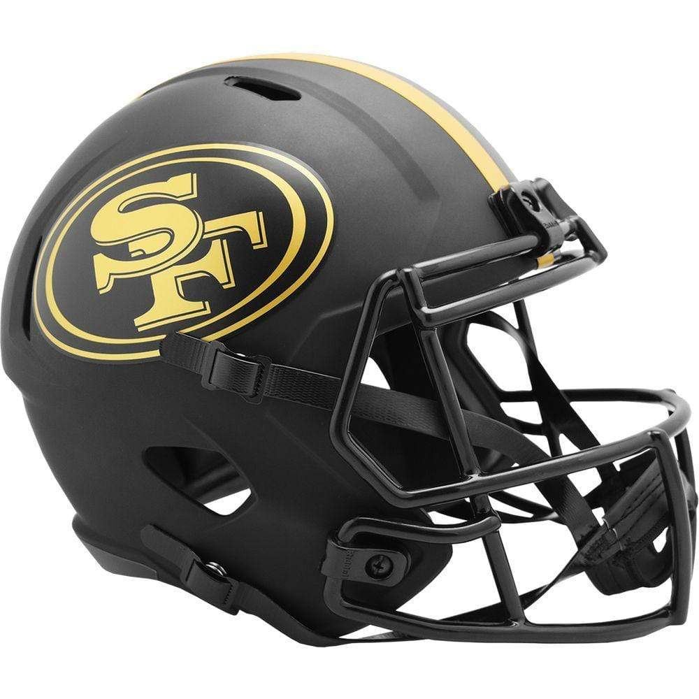 Riddell Mini Helmet One Size / Black San Francisco 49ers Riddell Eclipse Speed Mini Helmet