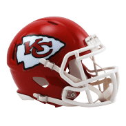 Riddell Mini Helmet One Size Kansas City Chiefs Speed Mini Helmet