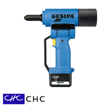 AccuBird - Gesipa - Remachadora pop inalámbrica - 14.4V - máx. Ø 6.0 mm (15/64