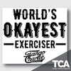 """World's Okayest Exerciser"" - Sticker"