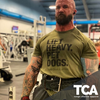 """Lift Heavy, Pet Dogs"" - Men's Tee"