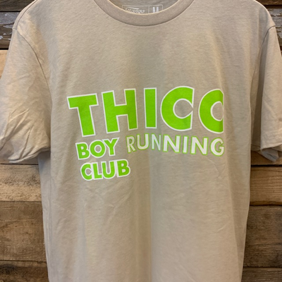 """Simply Imperfect - THICC Boy Running Club"" - Men's Tee"