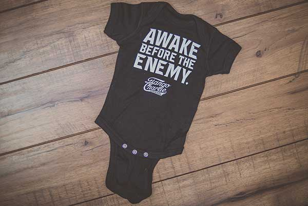 """Awake Before The Enemy"" - Baby Onesie"