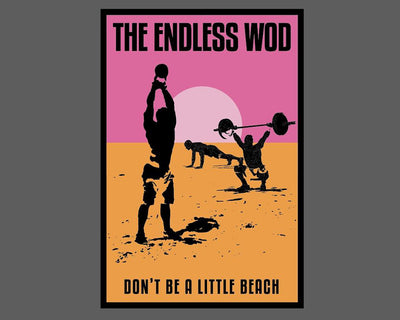"""Endless WOD"" - Sticker"