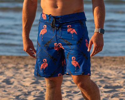 """Flamingo's and 50 CALs"" - Men's Shorts"
