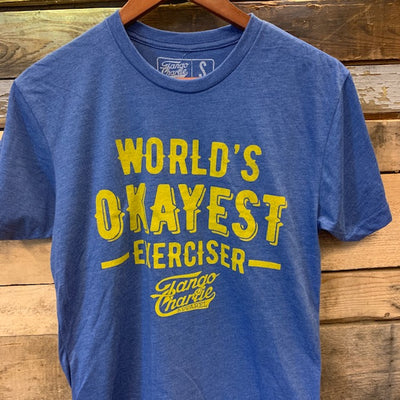 """Simply Imperfect - Worlds Okayest Exerciser"" - Men's Tee"