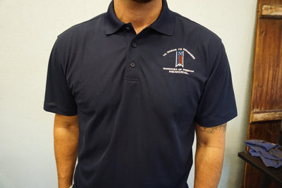 Warriors of Freedom Memorial Unisex Polo Shirt.