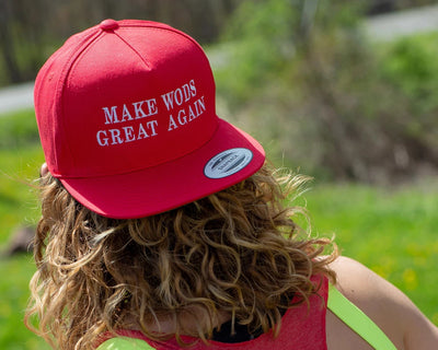 """Make WODs Great Again 4.0h"" - Unisex Snapback"