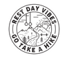 """Rest Day Vibes"" - Sticker"