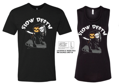 """Slow Death"" - Men's Tee"