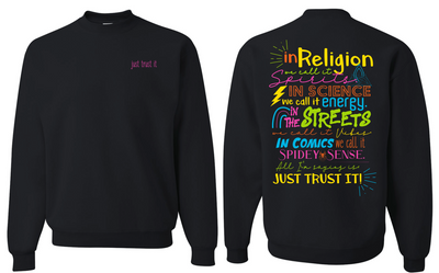 """Just Trust It"" - Champion Unisex Long Sleeve"
