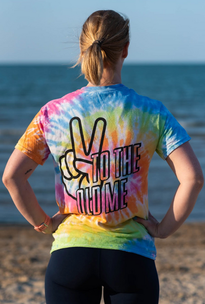 """Peace to the Old Me"" - Unisex Tie Dye Tee"