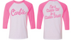 """Carbie"" - Women's 3/4 Sleeve"