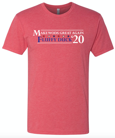 """MWGA & Fluffy Duck 2020 Campaign Red Elephant"" - Unisex Tee"