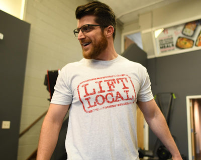 """Lift Local"" - Men's Tee"