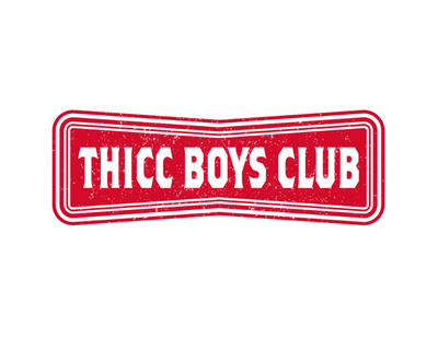 """Thicc Boys Club"" - Sticker"