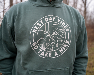 """Rest Day Vibes"" - Unisex Hoodie"