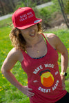"""Make WODs Great Again 4.Oh"" - Women's Racerback"