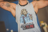 """Take a BITE out of time"" - Women's Muscle Tank"