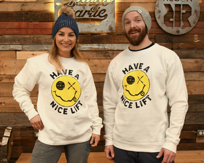 """Thank You, Have A Nice Lift"" - LIMITED EDITION Unisex Sweatshirt"