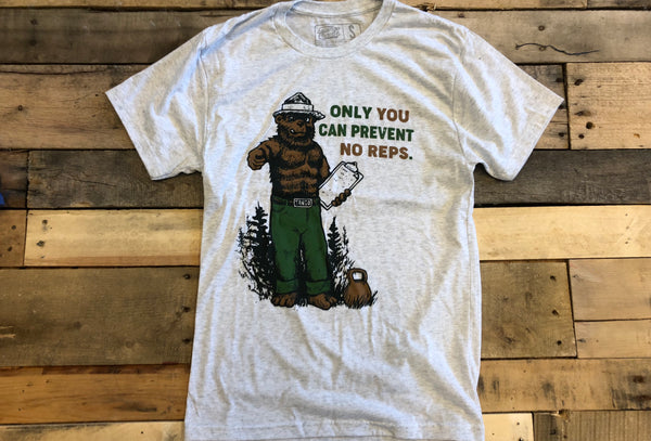 """Only you can prevent No Reps"" Men's T"