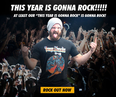"""This Year is Gonna Rock"" - Unisex Tee"