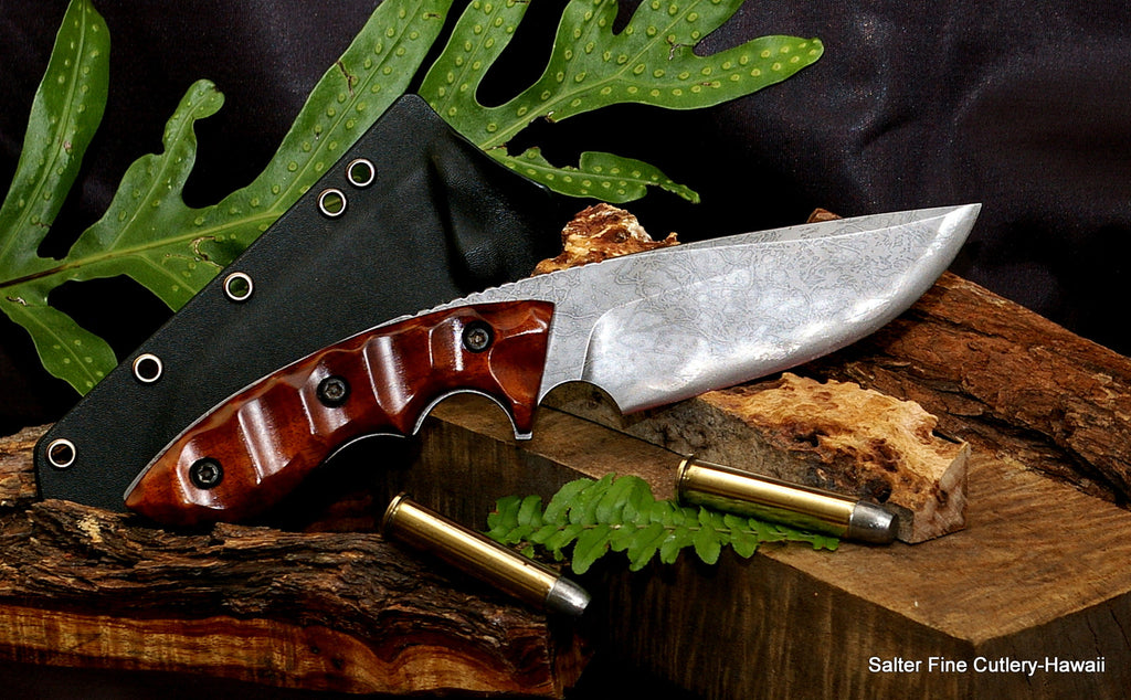 New Kiku Hunting Knife & More