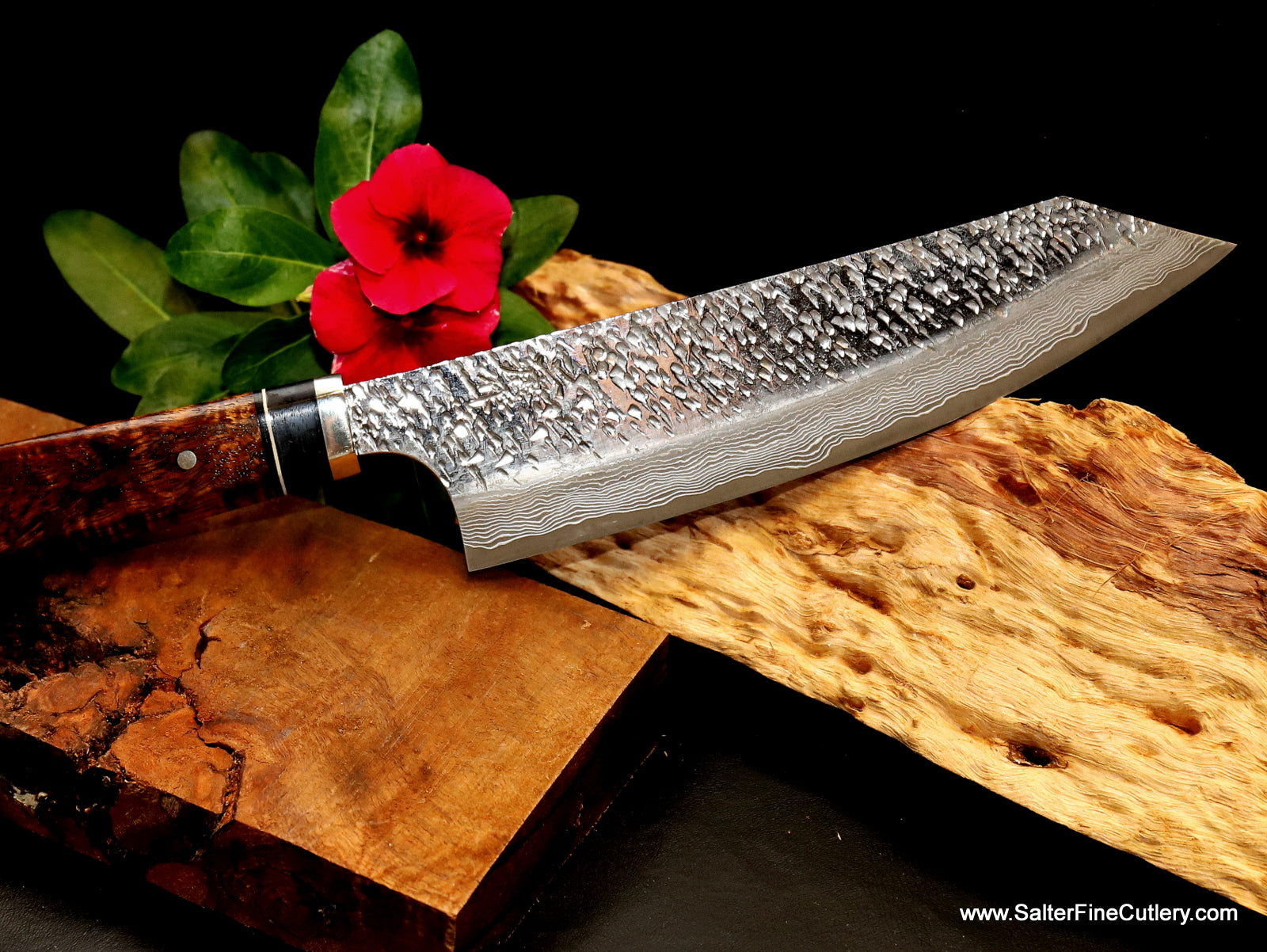 180mm Raptor design series vegetables and meat kitchen knife by Salter Fine Cutlery