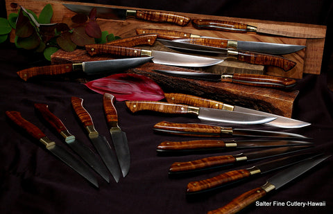 Steak Knives by Salter Fine Cutlery to be featured at the Grill in New York City