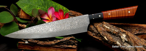 Best hand forged Japanese Chef Knives by Salter Fine Cutlery
