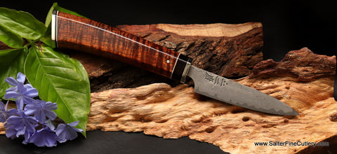 Small paring or bar knife, a great addition to any man cave from Salter Fine Cutlery