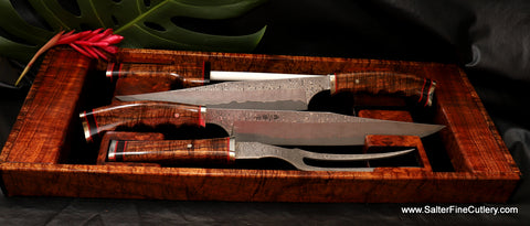 "New 240mm and 270mm carving knives from our ""Charybdis Collection"" by Salter Fine Cutlery"