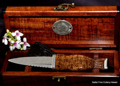 Scottish sgian dubh traditional wedding or ceremonial knife in keepsake box by Salter Fine Cutlery