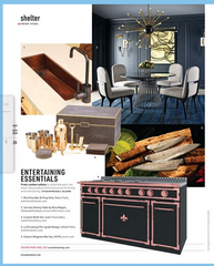 Salter Fine Cutlery featured in Ocean Home Magazine August September 2020 Edition