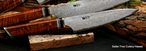 170mm Charybdis collectible chef knife with deluxe 'combat chef' style handle