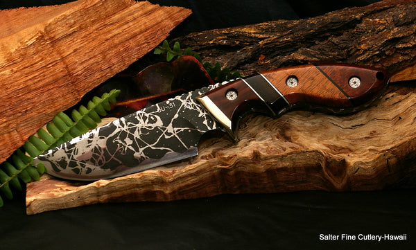 Collectors Hunting Knives from Salter Fine Cutlery and Kiku