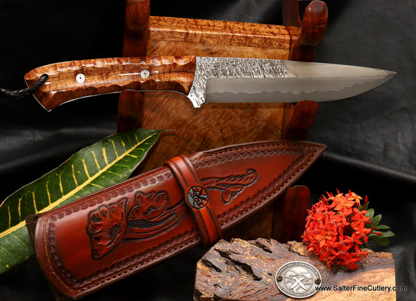 Custom Order Hunting Knives: 180mm Hunting Knife