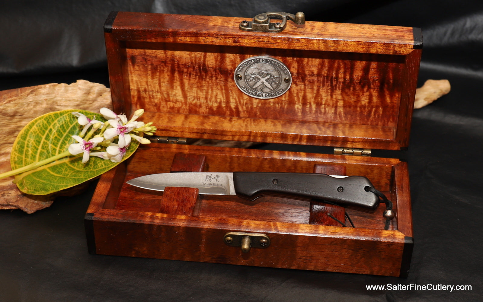 In Stock Item:  3-Inch Folding Knife with Keepsake Box