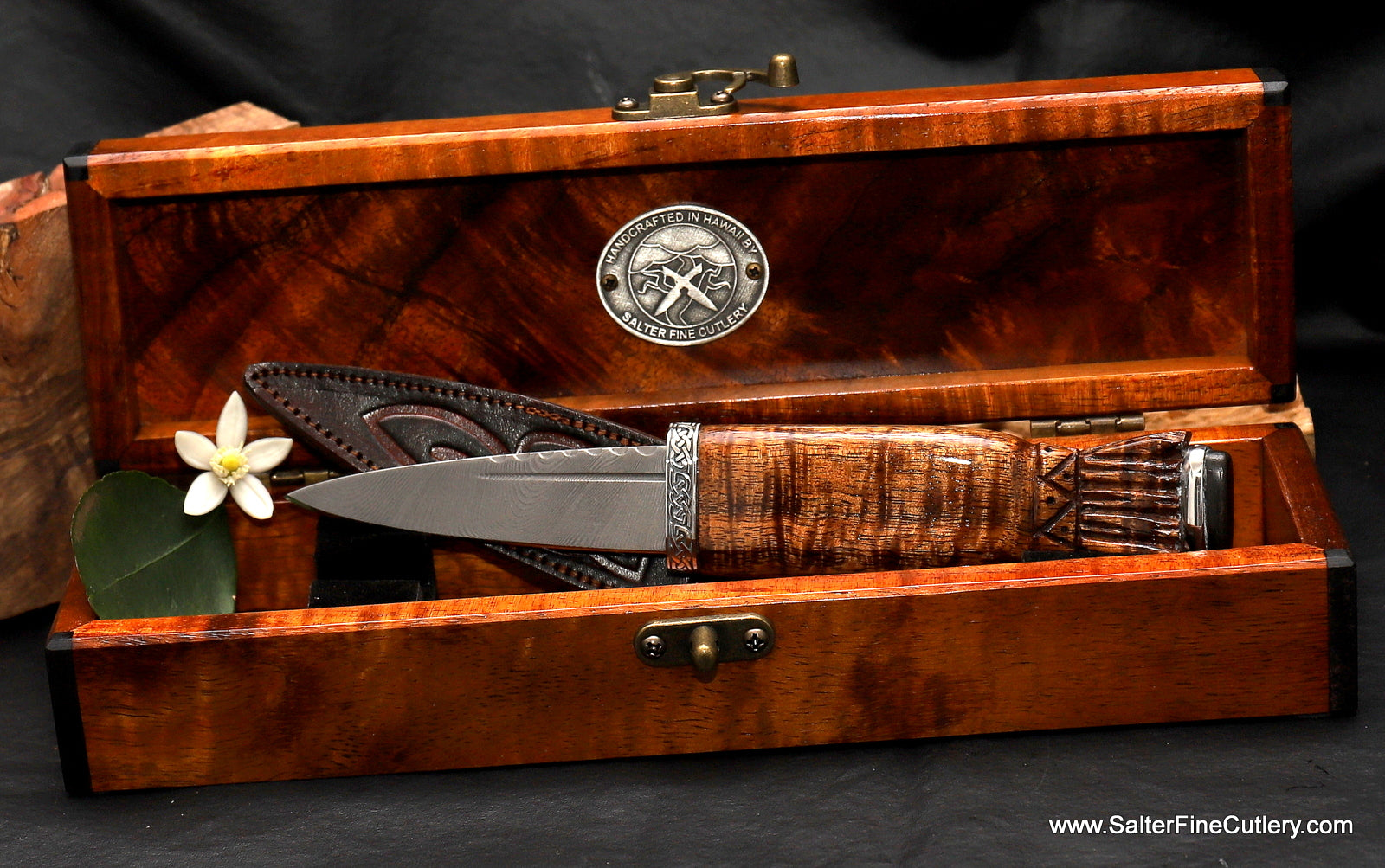 In Stock Item: Scottish Sgian Dubh with Keepsake Box