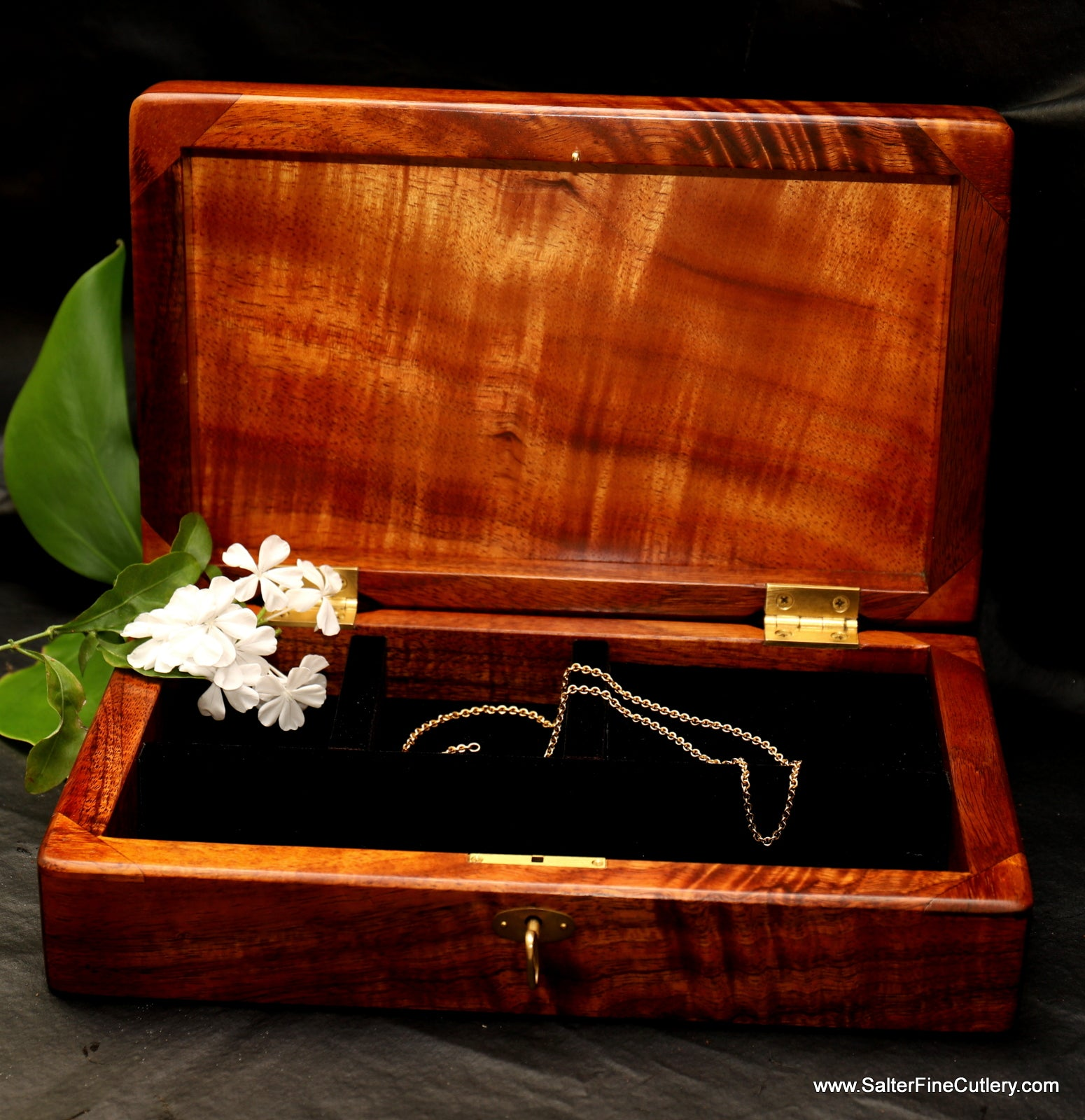 In Stock Item: Medium Ladies or Mens Jewelry Box