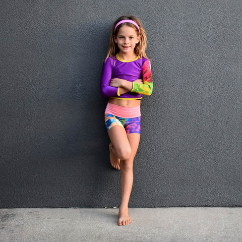 """Mini PIPER"" Rash Guard"