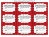 Candy Guessing Game - Printable Download - Red Black Ladybug Baby Shower Game - B10002